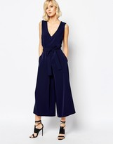 Gestuz Adie Soft Tailored Jumpsuit with Tie Waist