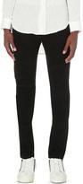 Balmain Biker slim-fit skinny stretch-cotton jeans