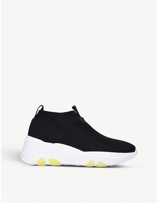 Carvela Lottery stretch-knit trainers