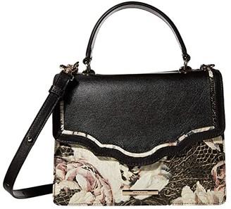 Brahmin Garland Mini Francine Satchel (Eden) Handbags