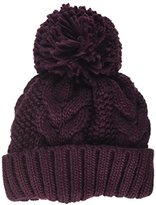 Warehouse Women's Cable Knit Beanie,(Manufacturer Size: 0)
