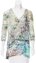 Mary Katrantzou Printed Knit Top