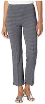 Lysse Harley Wide Leg Crop Pants in Lightweight Ponte Jacquard (Spring Houndstooth) Women's Casual Pants