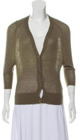 Tory Burch Cashmere Lightweight Cardigan