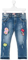 Vingino appliquéd cropped jeans