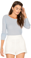 360 Sweater Ambrielle Cashmere Sweater in Blue