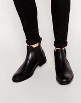Polo Ralph Lauren Dillian Leather Chelsea Boots - Black