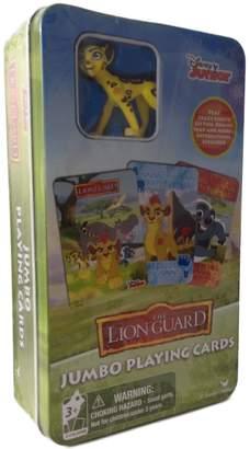 Cardinal Disney's The Lion Guard Jumbo Playing Cards & Fuli Figure Set