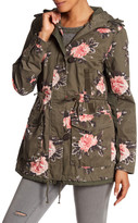 Members Only Floral Anorak