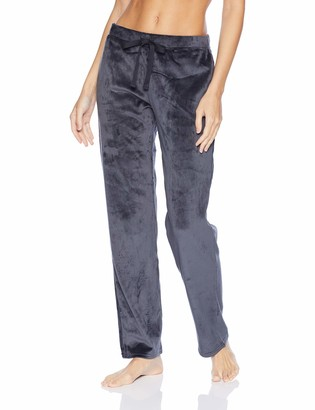 N Natori Women's Solid Velour Pant