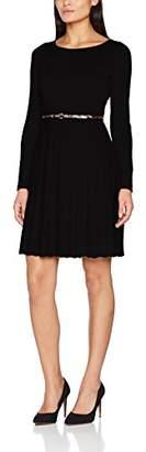 Comma Women's 8T710824010 Dress, Grau (Black 9999)