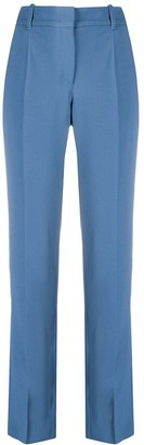 Emporio Armani High-Waist Slim Trousers