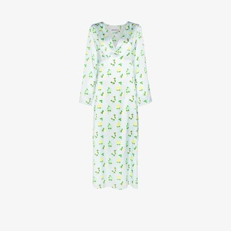 BERNADETTE Sarah floral print silk dress