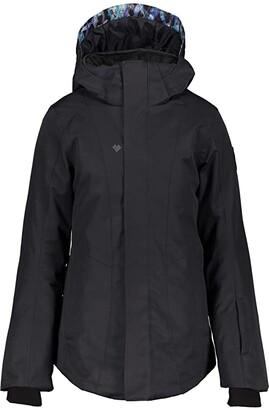 Obermeyer Haana Jacket (Little Kids/Big Kids) (Black) Girl's Jacket
