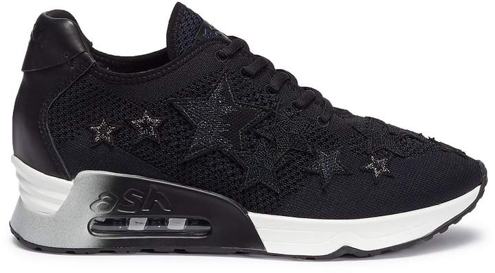 Ash 'Lucky Star' appliqué knit sneakers
