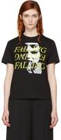 McQ Black falling T-shirt