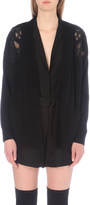Sandro Davon wool and cashmere-blend cardigan