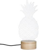 Bulbing - Pineapple Lamp - Glass/Plywood Birch