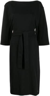 Calvin Klein boat neck midi dress
