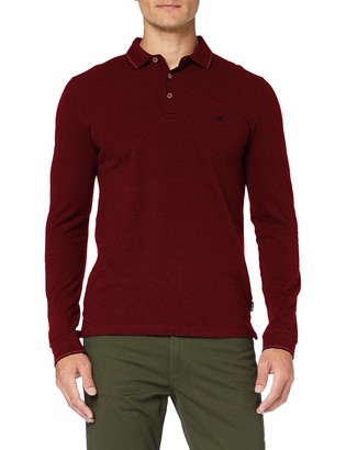 Wrangler Men's LS Refined Polo Longsleeve T-Shirt
