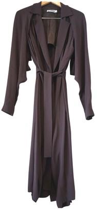 Jil Sander Brown Trench Coat for Women