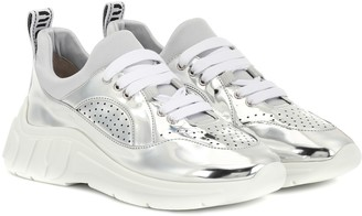 Miu Miu Metallic sneakers