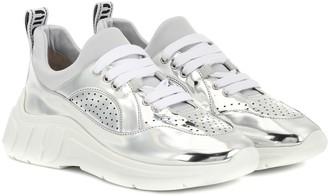 Miu Miu Metallic sneakers