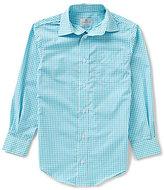 Class Club Big Boys 8-20 Button-Down Long-Sleeve Gingham Shirt