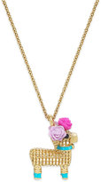 Kate Spade Gold-Tone Piñata Pendant Necklace