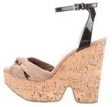 Jimmy Choo Platform Ankle-Strap Sandals