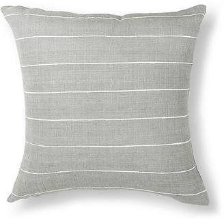 Bole Road Textiles Melkam Pillow - Gray