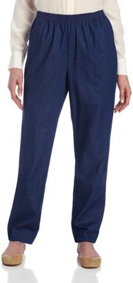 Alfred Dunner Women's Medium Length Pant