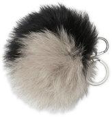 Adrienne Landau Real Fox Fur Bag Charm