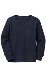 J.Crew J. Crew Long Sleeve Garment Dyed Tee (Toddler, Little Boys, & Big Boys)