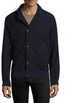 Save Khaki Fleece Lined Cotton Bomber Jacket