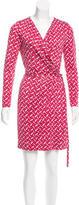 Diane von Furstenberg Silk Callista Dress