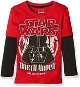 Star Wars Boy's Galactic Empire Long Sleeve Long Sleeve Top