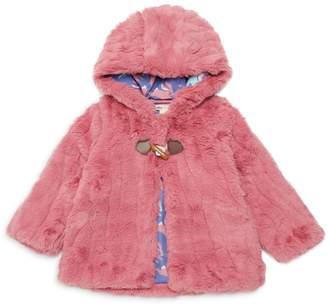 Hatley Baby Girl's Hooded Faux Fur Jacket