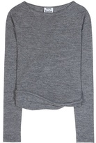 Acne Studios Janelle alpaca and wool-blend sweater