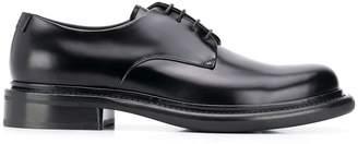 Giorgio Armani polished Derby shoes
