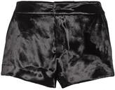 Rag & Bone Nesi velvet shorts