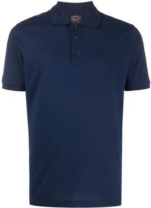Paul & Shark Shark-Plaque Polo Shirt