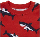 Carter's 4-Piece Cotton - Shark-12 Months