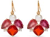 Irene Neuwirth Diamond, tourmaline, pearl & rose-gold earrings