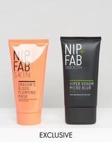 Nip + Fab Nip+Fab NIP+FAB ASOS Exclusive Hydrate & Prime - Viper Venom Micro Blur & Dragons Blood Mask
