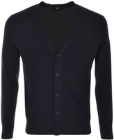 Paul Smith Full Button Cardigan Navy