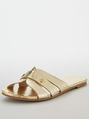 Miss KG Dallas Flat Sandals - Gold