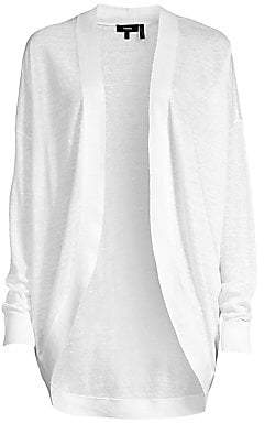 Theory Women's Long Waterfall Cardigan