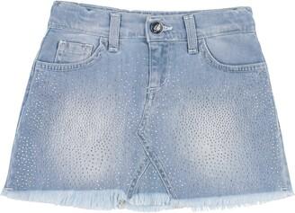 Miss Blumarine Denim skirts