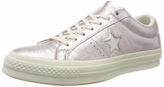 Converse Unisex Adults Cons One Star Metallic Leather Ox Low-Top Sneakers